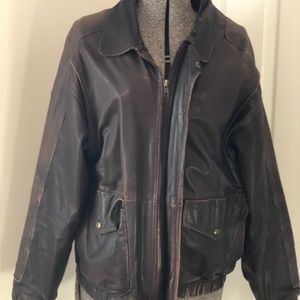 Vintage Men's Eddie Bauer Leather jacket